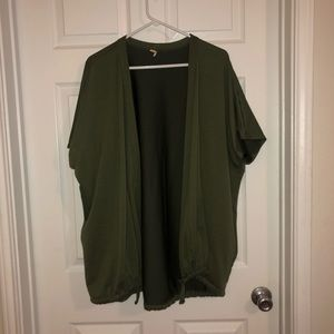 Lucy olive green cardigan